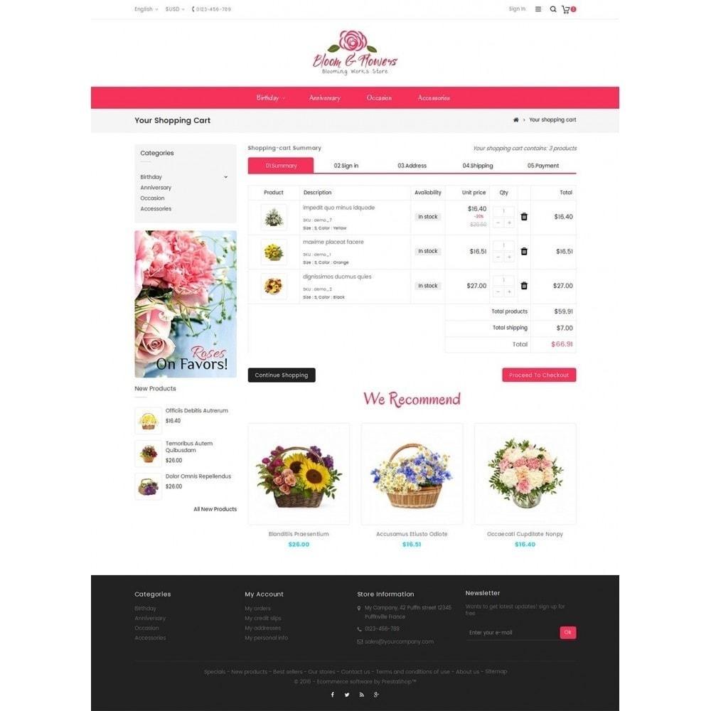 theme - Geschenke, Blumen & Feiern - Bloom Flower Store - 7