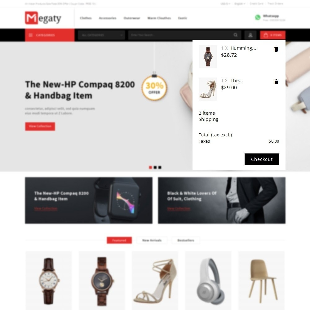 theme - Mode & Chaussures - Megaty Store - 8
