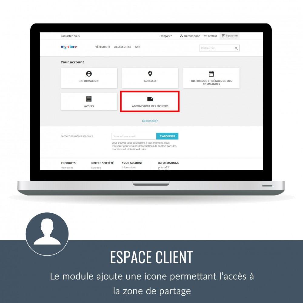 module - Service Client - Sharebox: Partage de fichier fun ! - 1