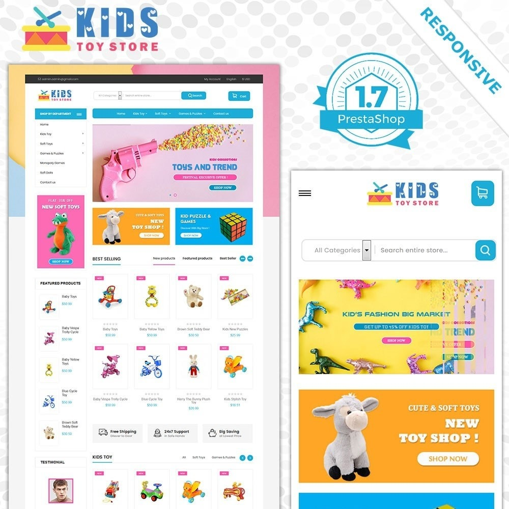 theme - Kids & Toys - Toy Store - 1