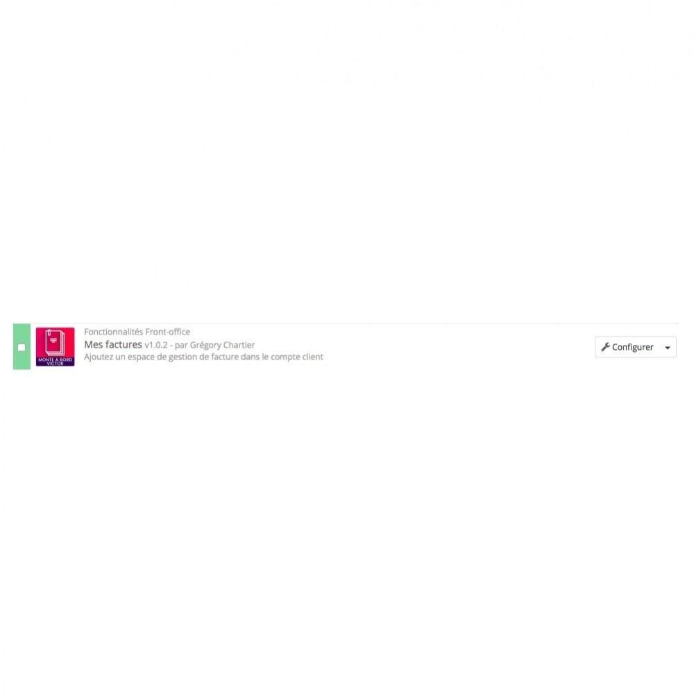 module - Comptabilité & Facturation - Mes factures - 4