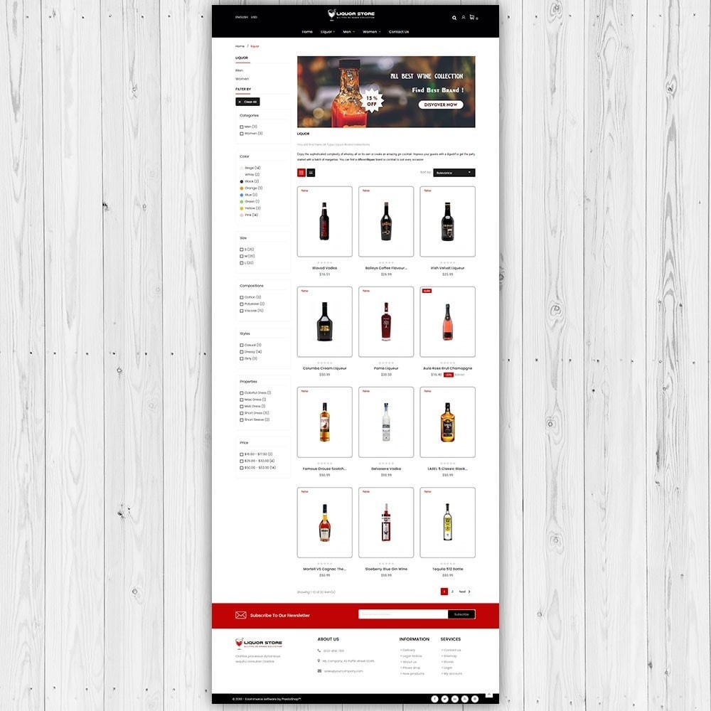 theme - Boissons & Tabac - Magasin d'alcool - 4