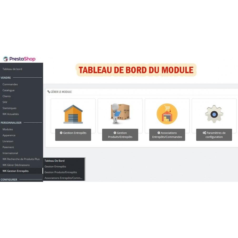 module - Gestion des Stocks & des Fournisseurs - Wk Gestion Entrepôts Pour Prestashop 1.7 - 2