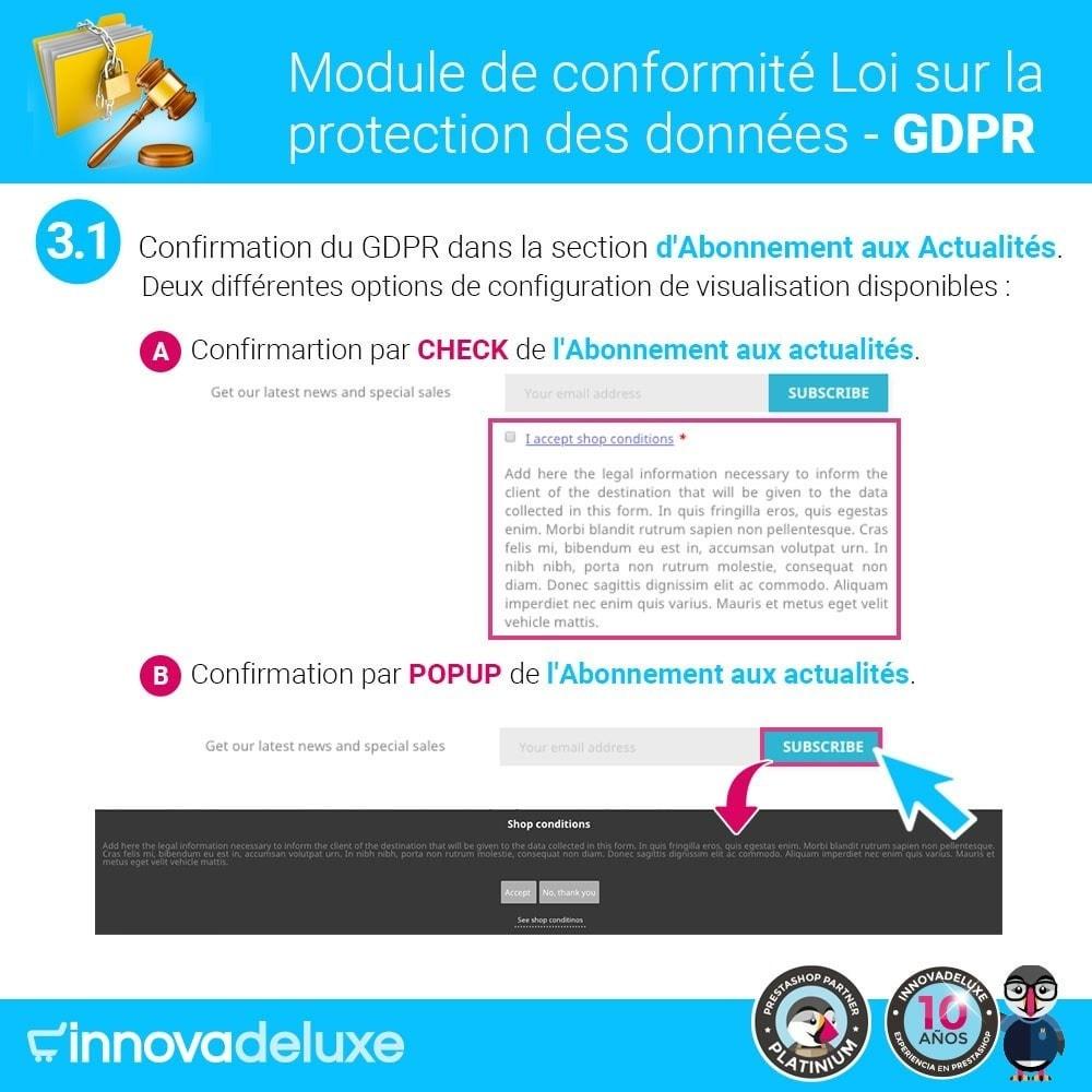 module - Législation - Conformité à la Loi sur la protection des données RGPD - 4