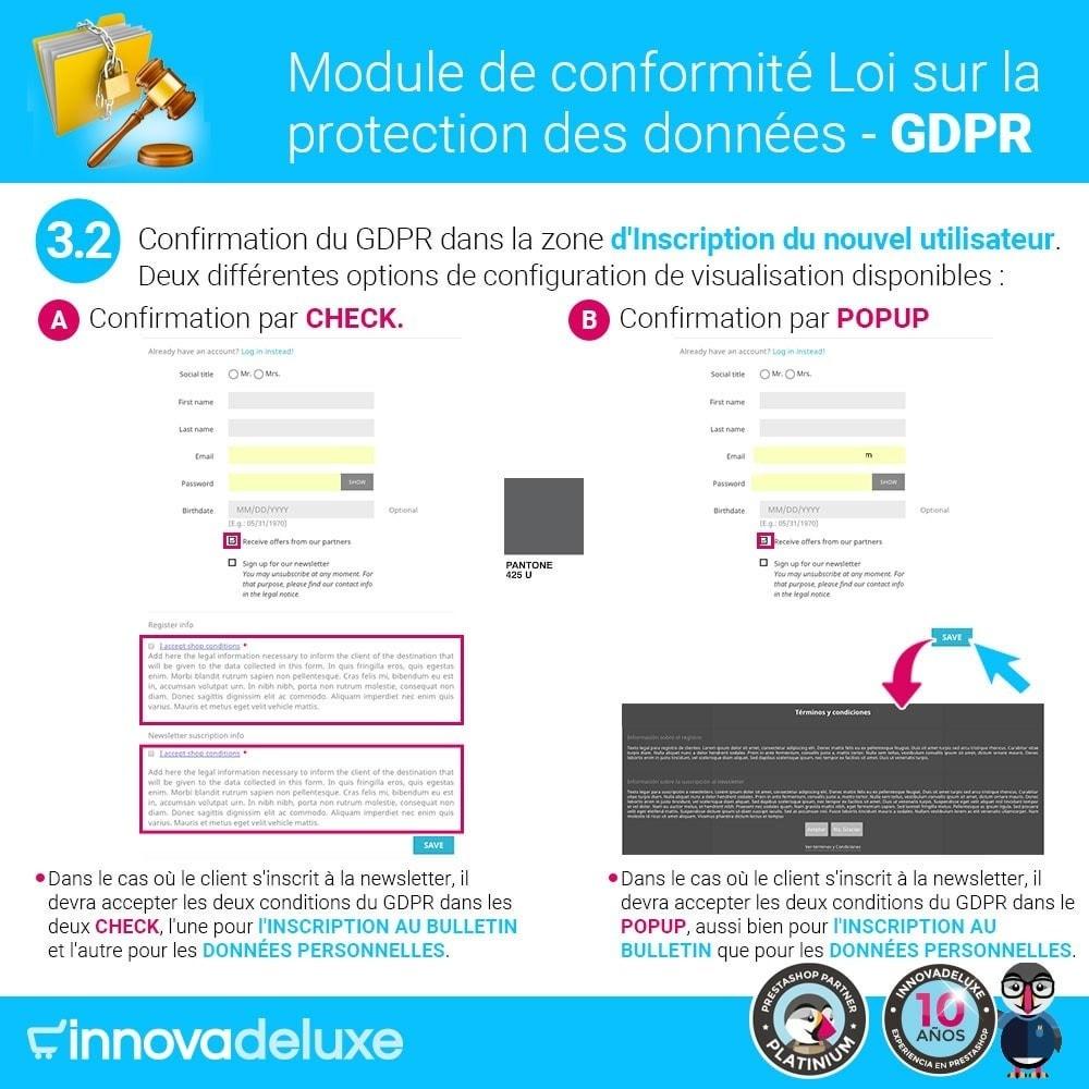 module - Législation - Conformité à la Loi sur la protection des données RGPD - 5