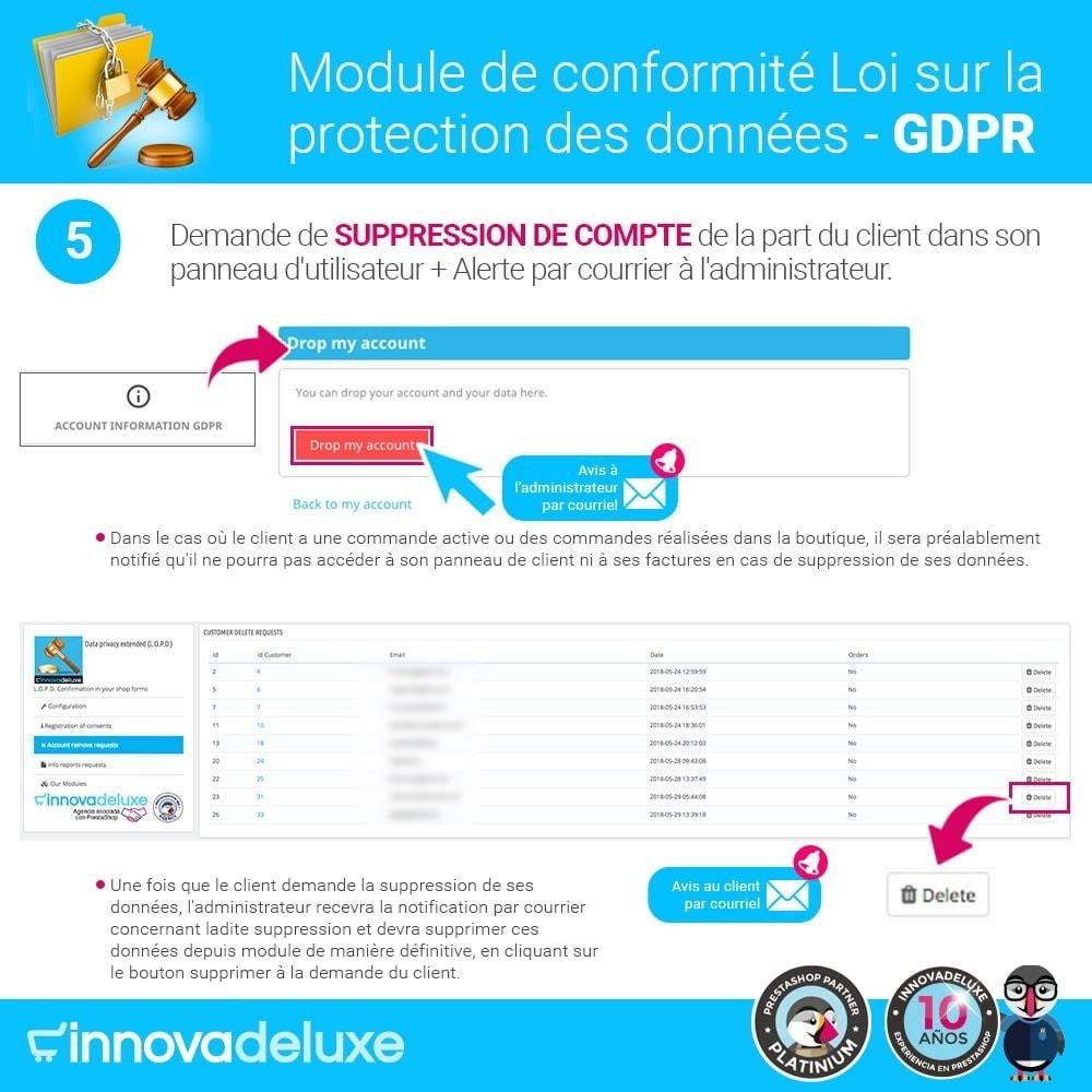 module - Législation - Conformité à la Loi sur la protection des données RGPD - 10