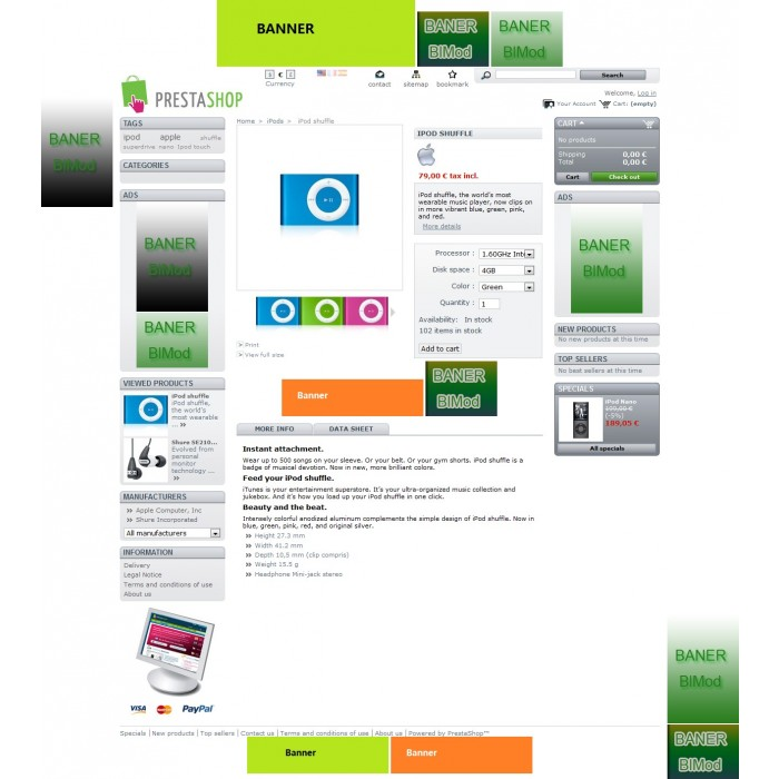 module - Bloques, Pestañas y Banners - Banner (ads) uploader Pro - 3