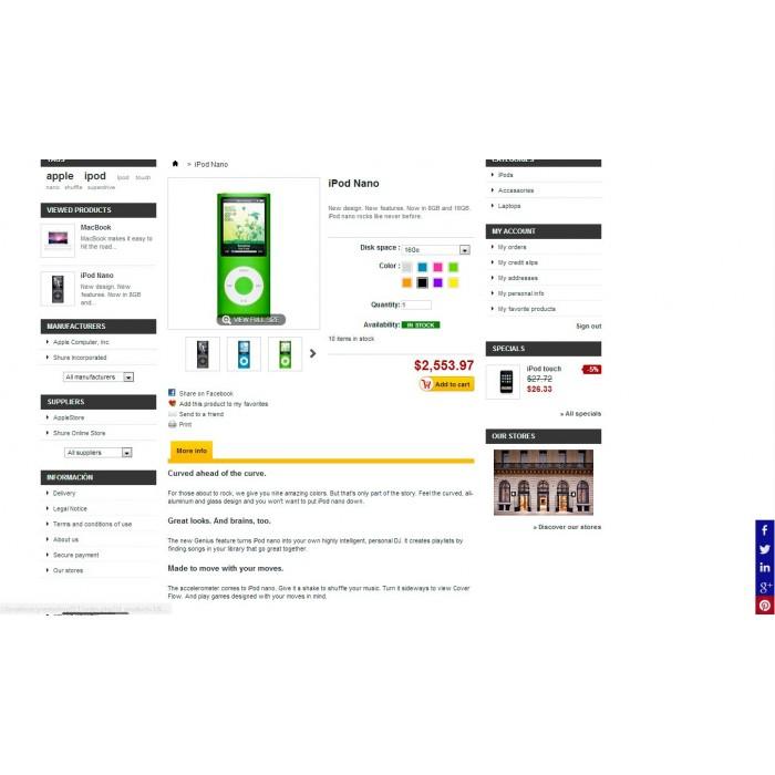 module - Deelknoppen & Commentaren - Social Tech / Share +Whatsapp - 7