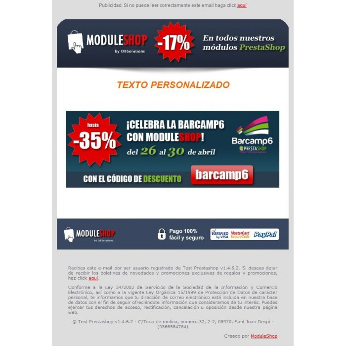 module - Boletim informativo & SMS - Newsletter Maker Pro - 3