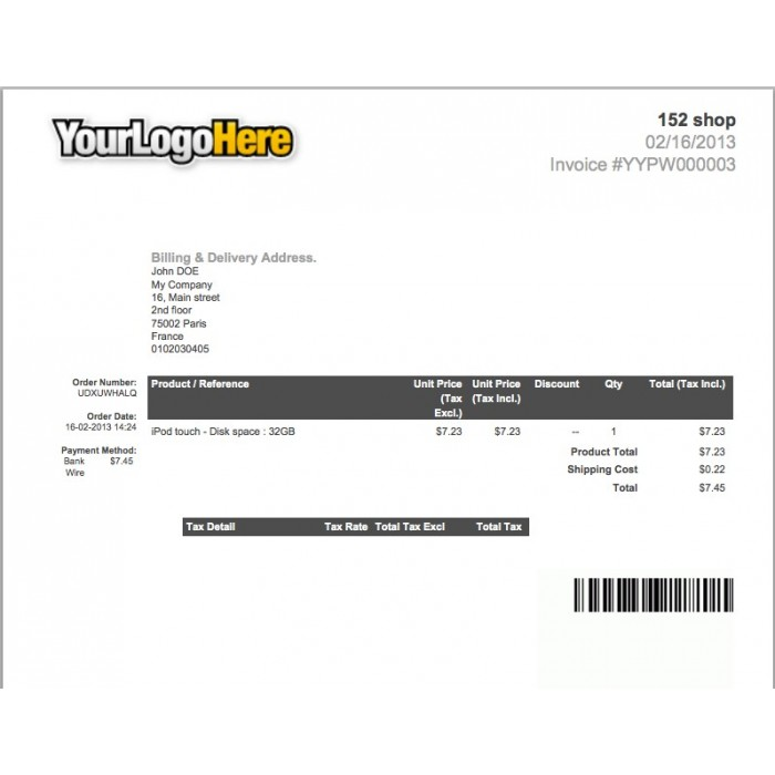 module - Preparation & Shipping - Invoice & Delivery Barcode Generator - 2