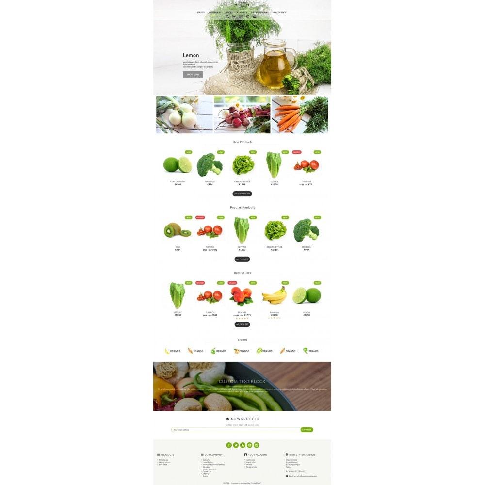 theme - Żywność & Restauracje - Organic Food - 2