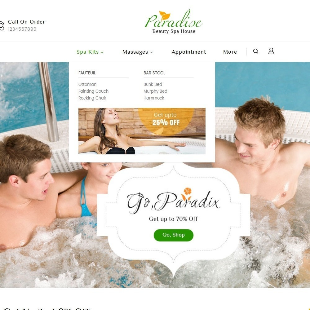 theme - Health & Beauty - Paradise Spa - 9