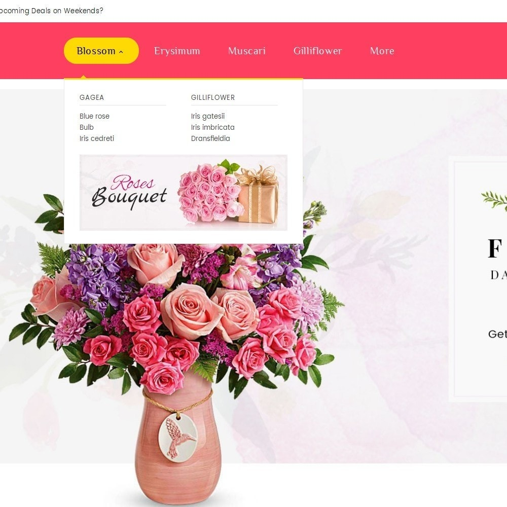 theme - Gifts, Flowers & Celebrations - Florist Blooming Art - 9