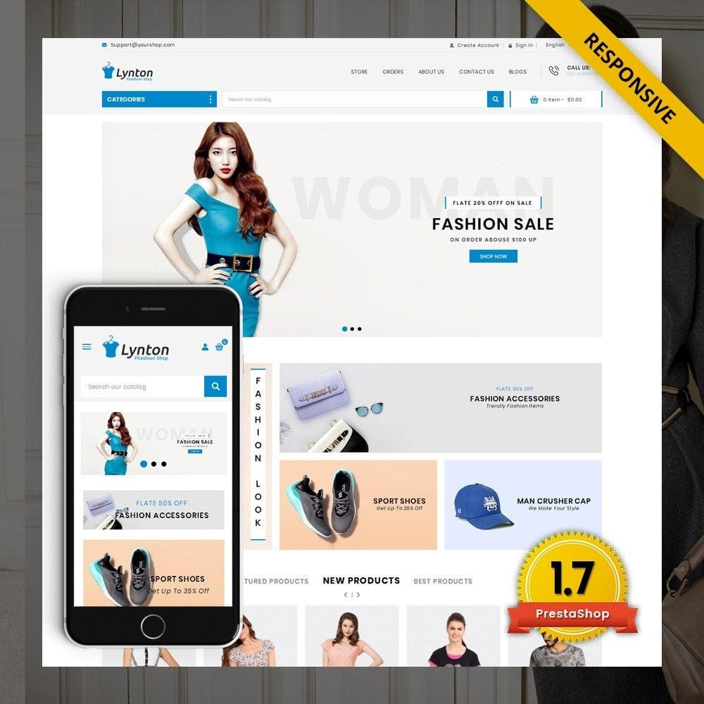theme - Mode & Schoenen - Lynton - Fashion Store - 1