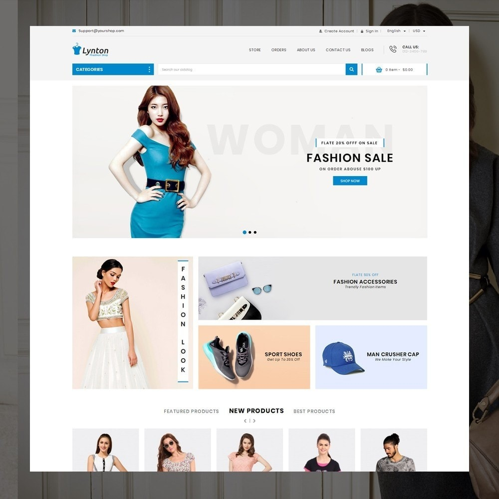 theme - Mode & Schoenen - Lynton - Fashion Store - 2