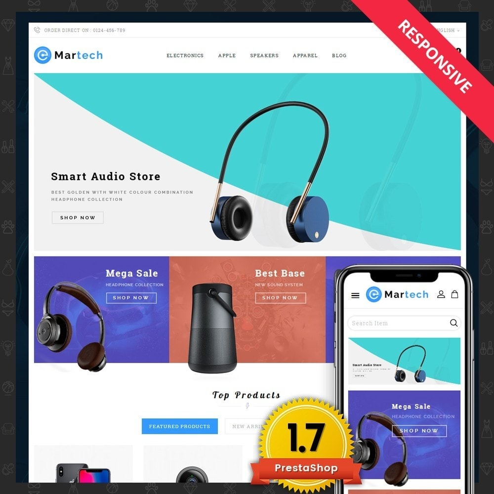 theme - Electronique & High Tech - Martech Electronic Store - 1