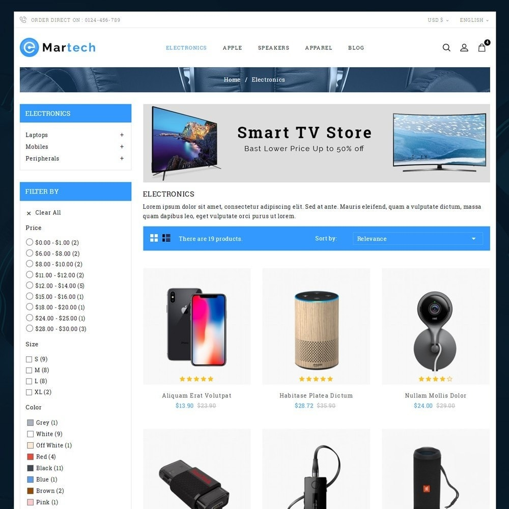 theme - Electronique & High Tech - Martech Electronic Store - 3
