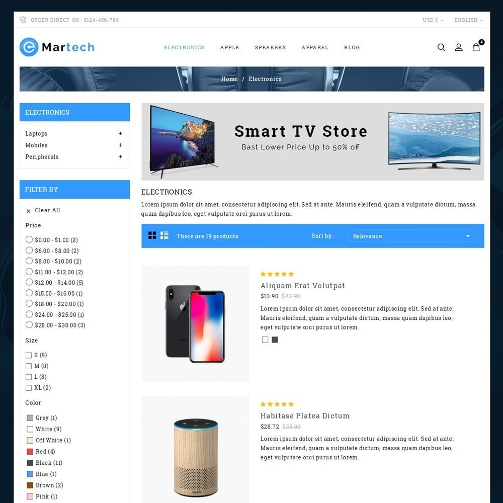 theme - Electronique & High Tech - Martech Electronic Store - 4