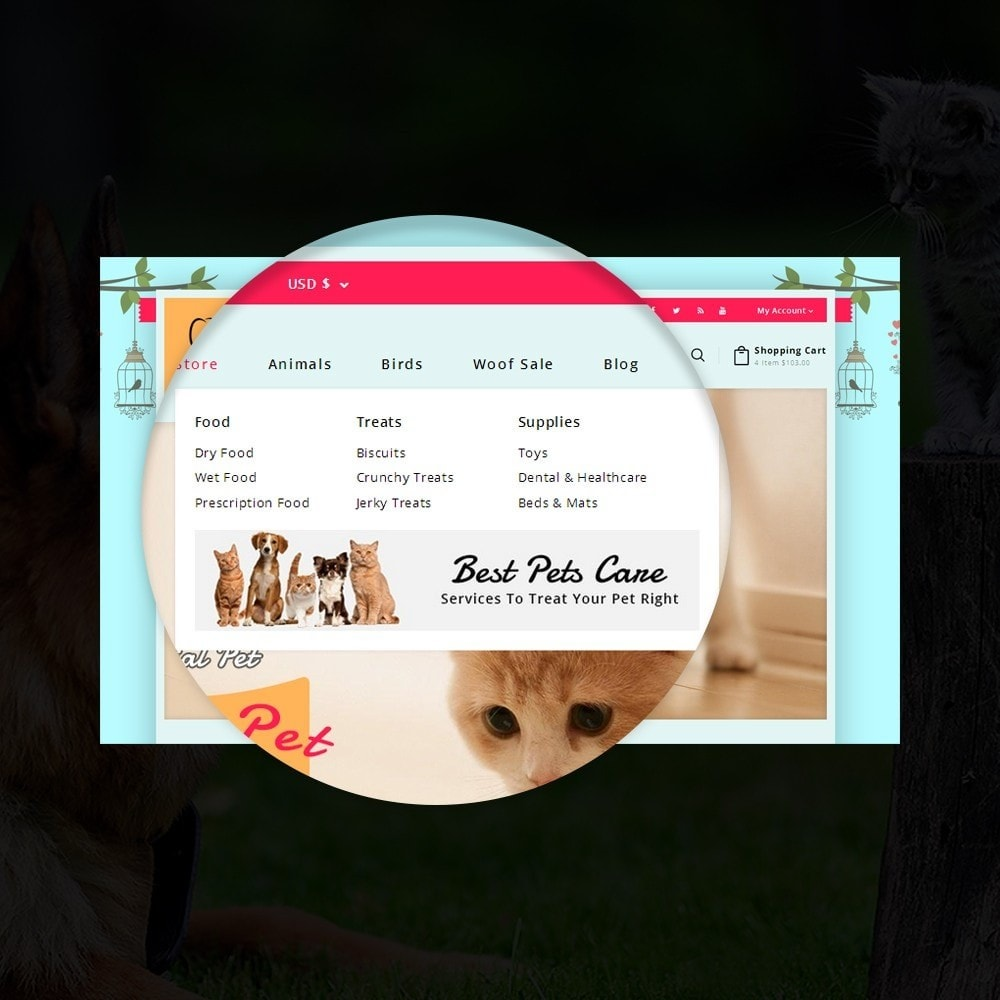 theme - Animaux - Puppy Pet Store - 10
