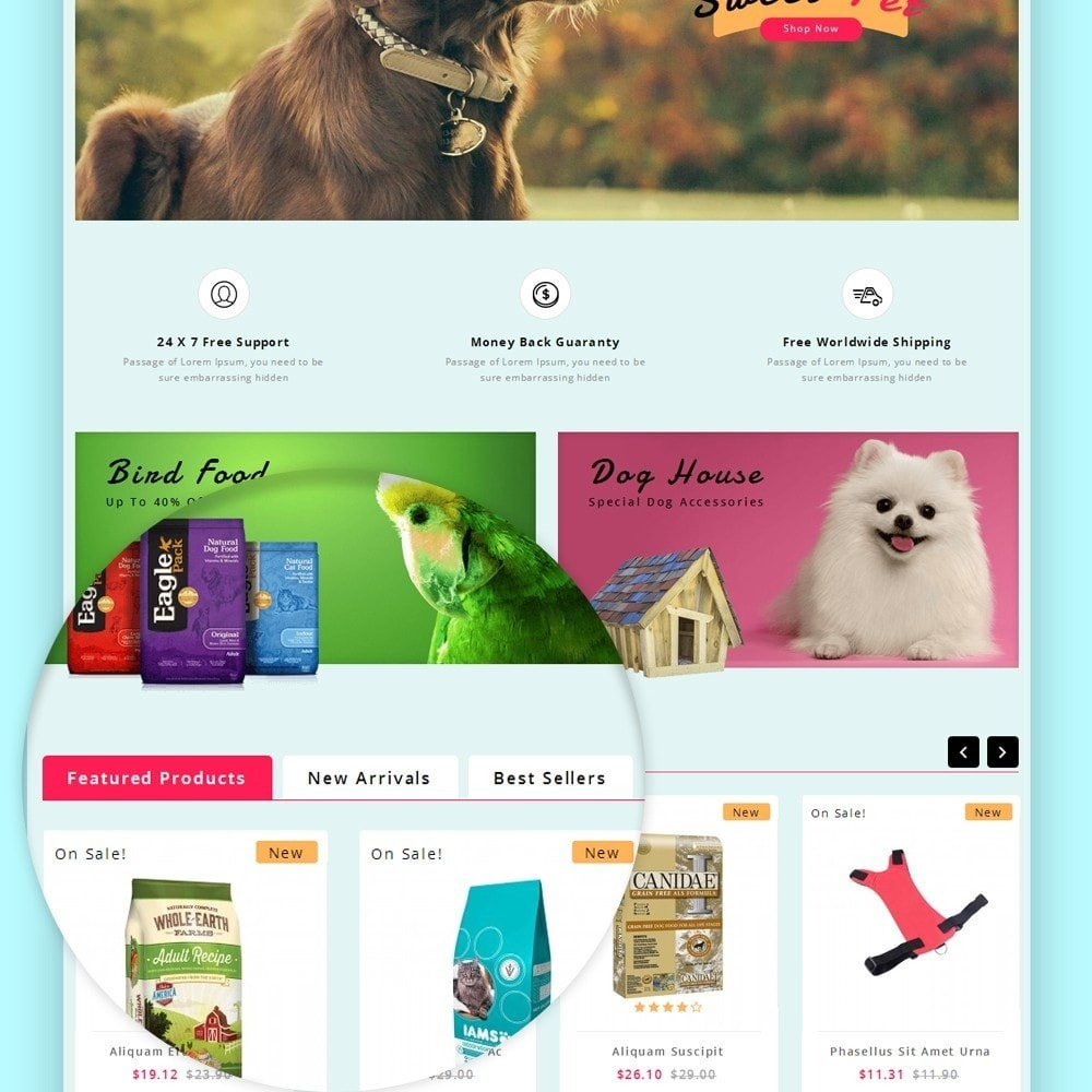 theme - Animais - Puppy Pet Store - 11