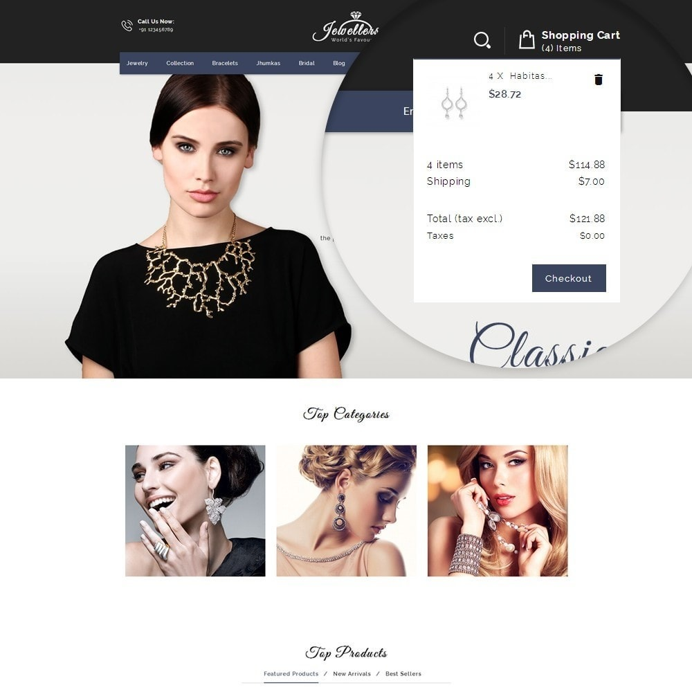 theme - Bellezza & Gioielli - Jewellers - Jewelry Shop - 8