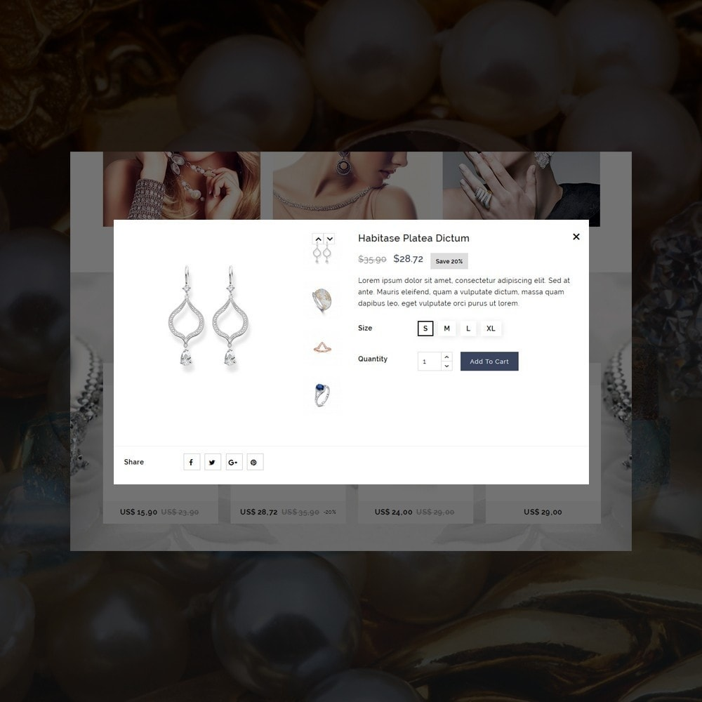 theme - Bellezza & Gioielli - Jewellers - Jewelry Shop - 11