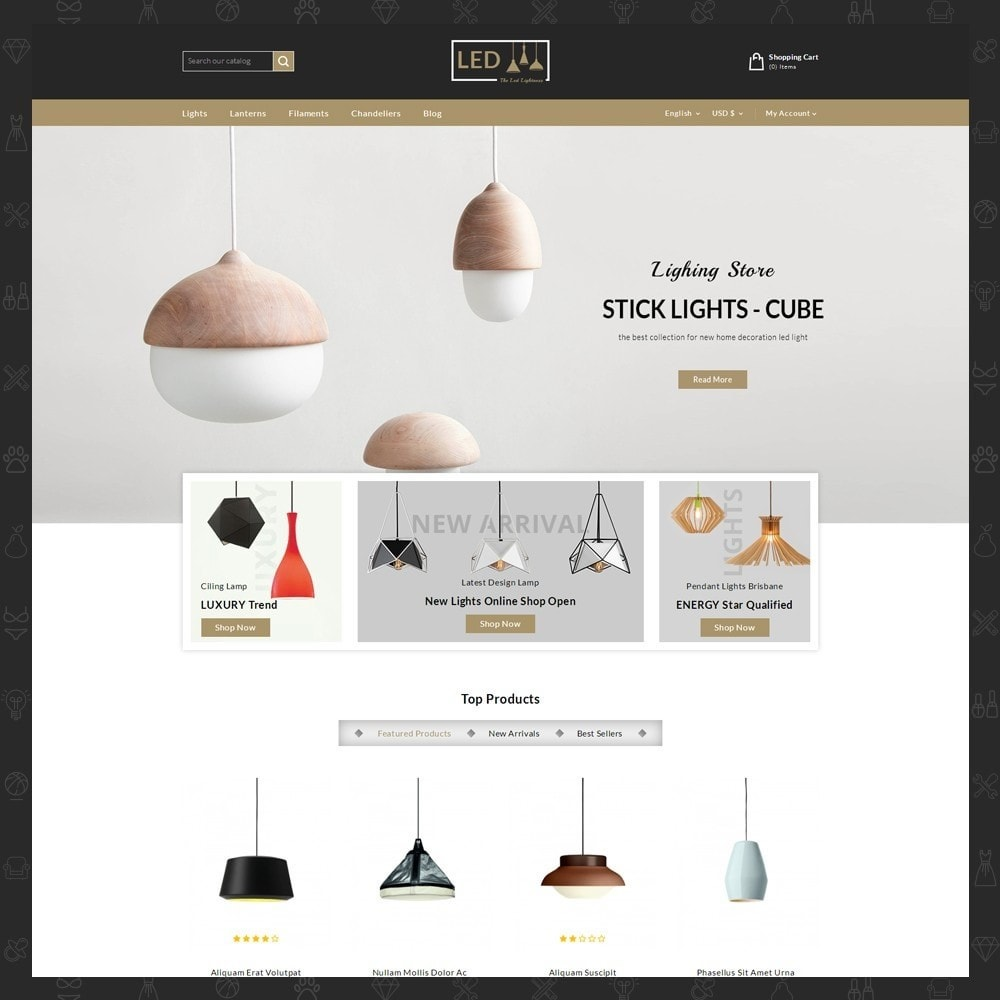 theme - Home & Garden - Lightness Store - 2