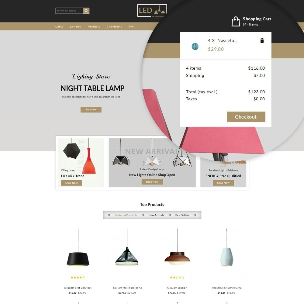 theme - Home & Garden - Lightness Store - 7