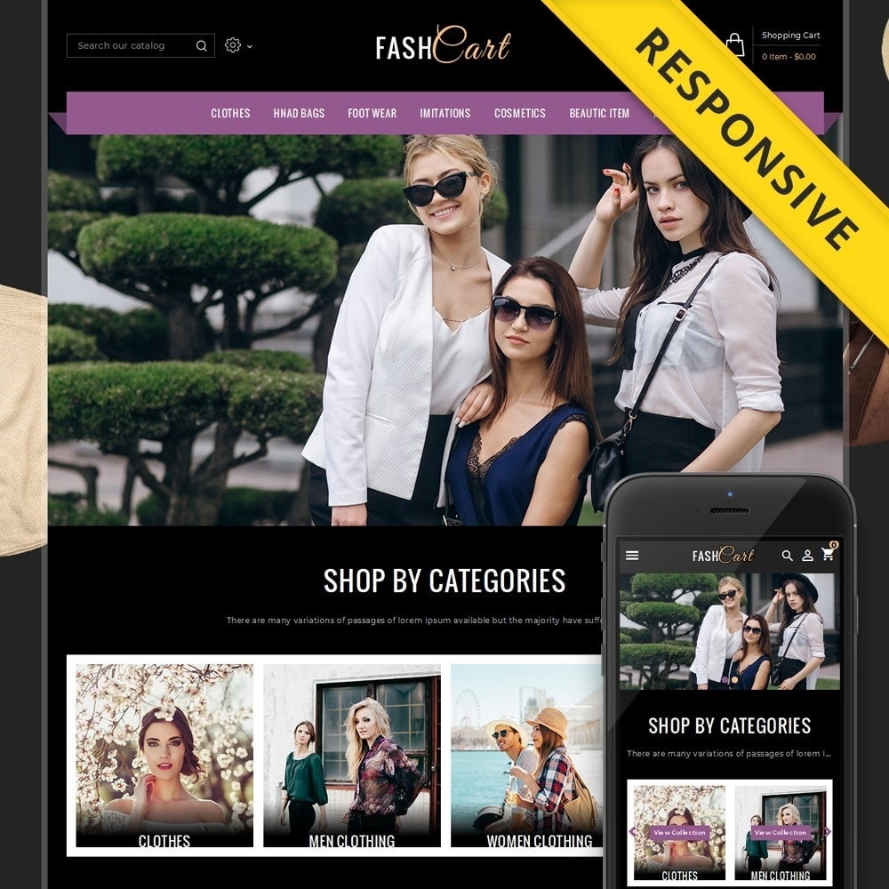 theme - Mode & Chaussures - FashCart Store - 1