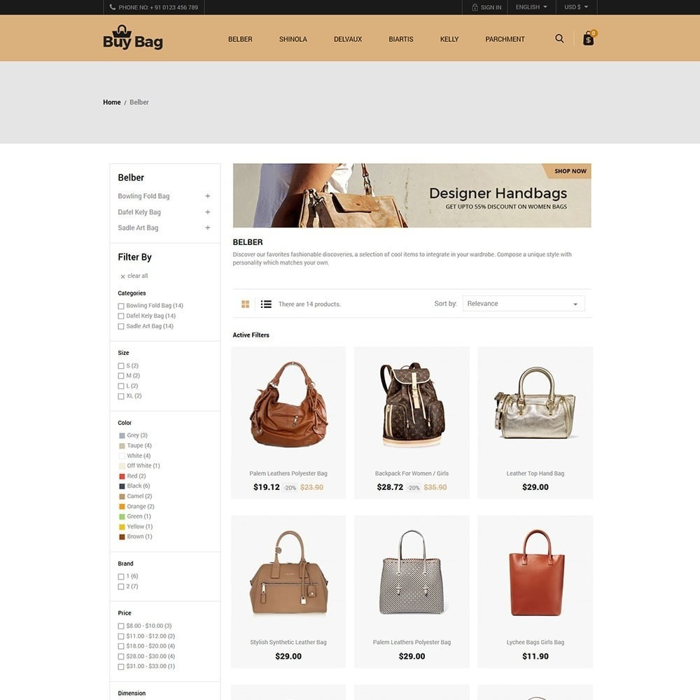 theme - Mode & Schoenen - Buy Bag - Fashion Store - 3