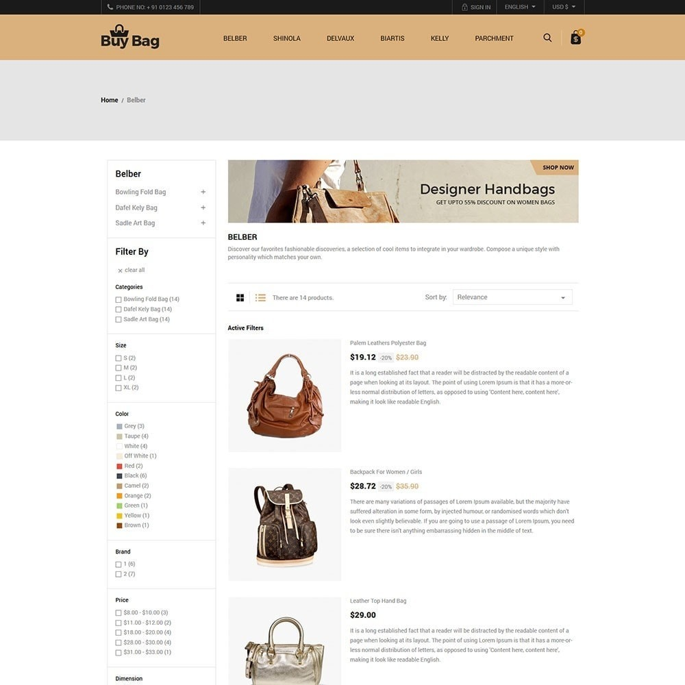 theme - Мода и обувь - Buy Bag - Fashion Store - 4