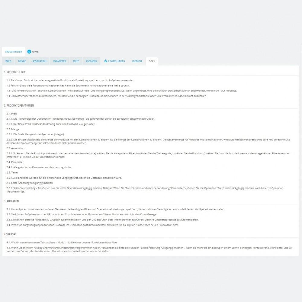 module - Quick Eingabe & Massendatenverwaltung - Produktmassenbearbeitung: Massenupdateassistent - 8