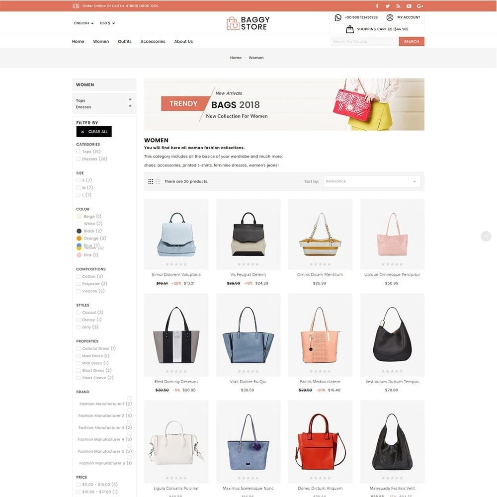 theme - Moda & Obuwie - Baggy Bag Store - 5