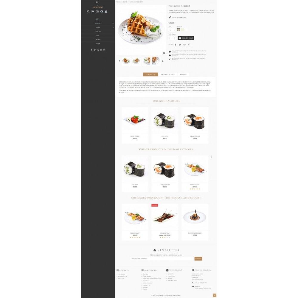 theme - Żywność & Restauracje - Universal Restaurant - 4