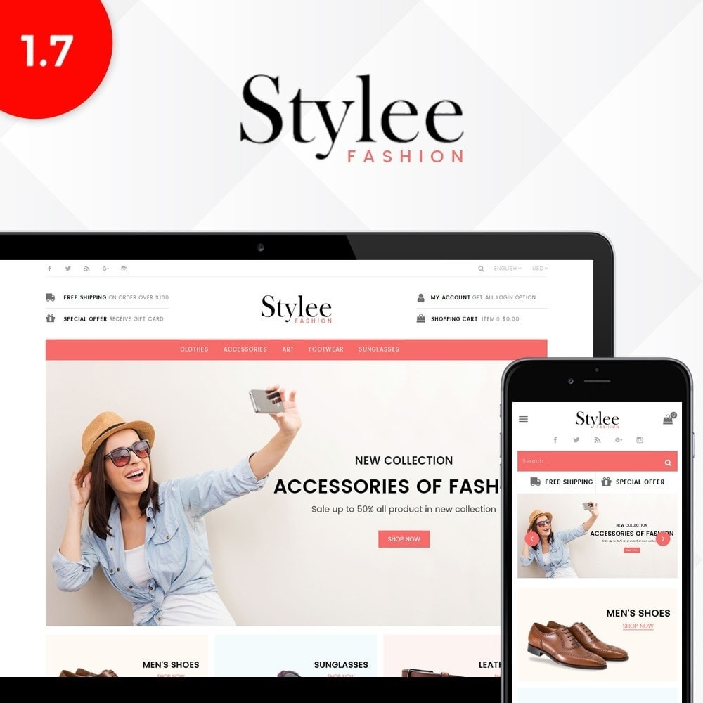 theme - Mode & Chaussures - Stylee Store - 1
