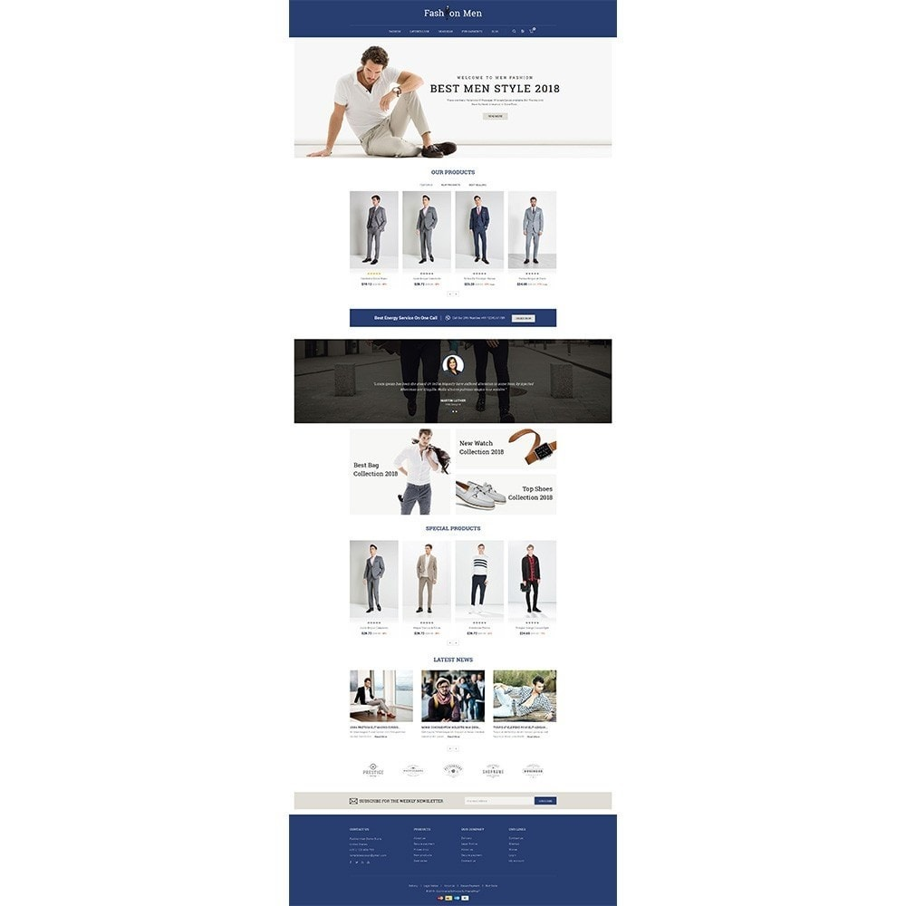 theme - Moda y Calzado - Fashionmen Demo Store - 2