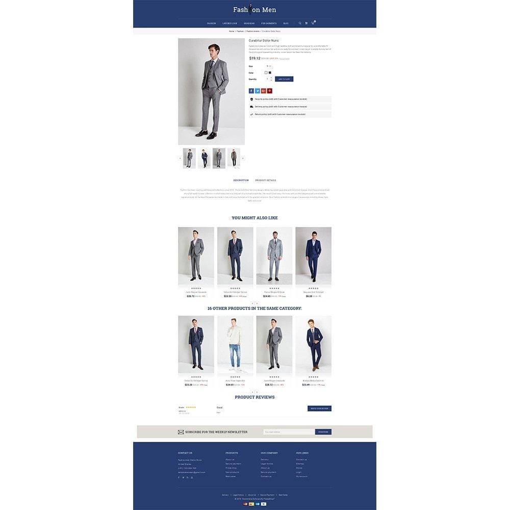 theme - Fashion & Shoes - Fashionmen Demo Store - 5