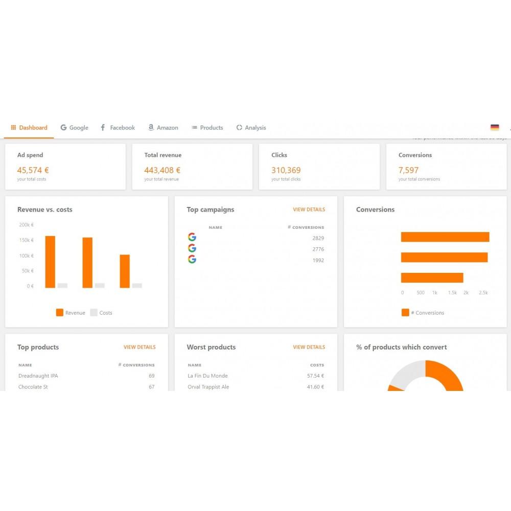 module - Référencement payant (SEA SEM) & Affiliation - PrestaShop Ads pour Google Shopping - 5