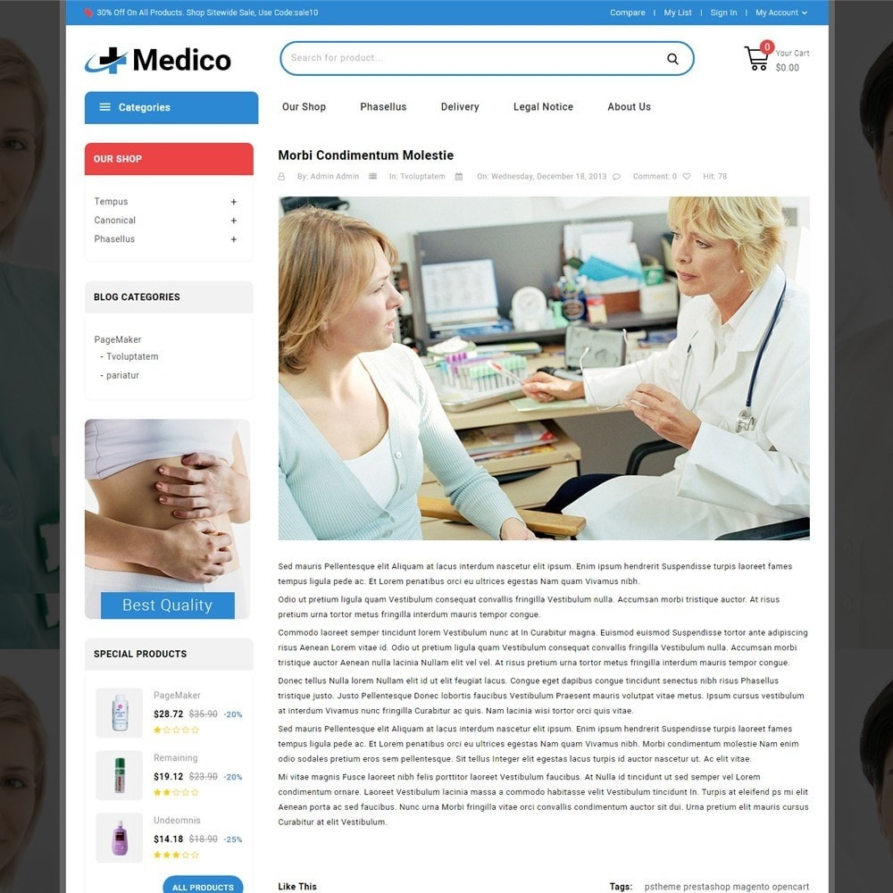theme - Salud y Belleza - Medico - The Medical Store - 7