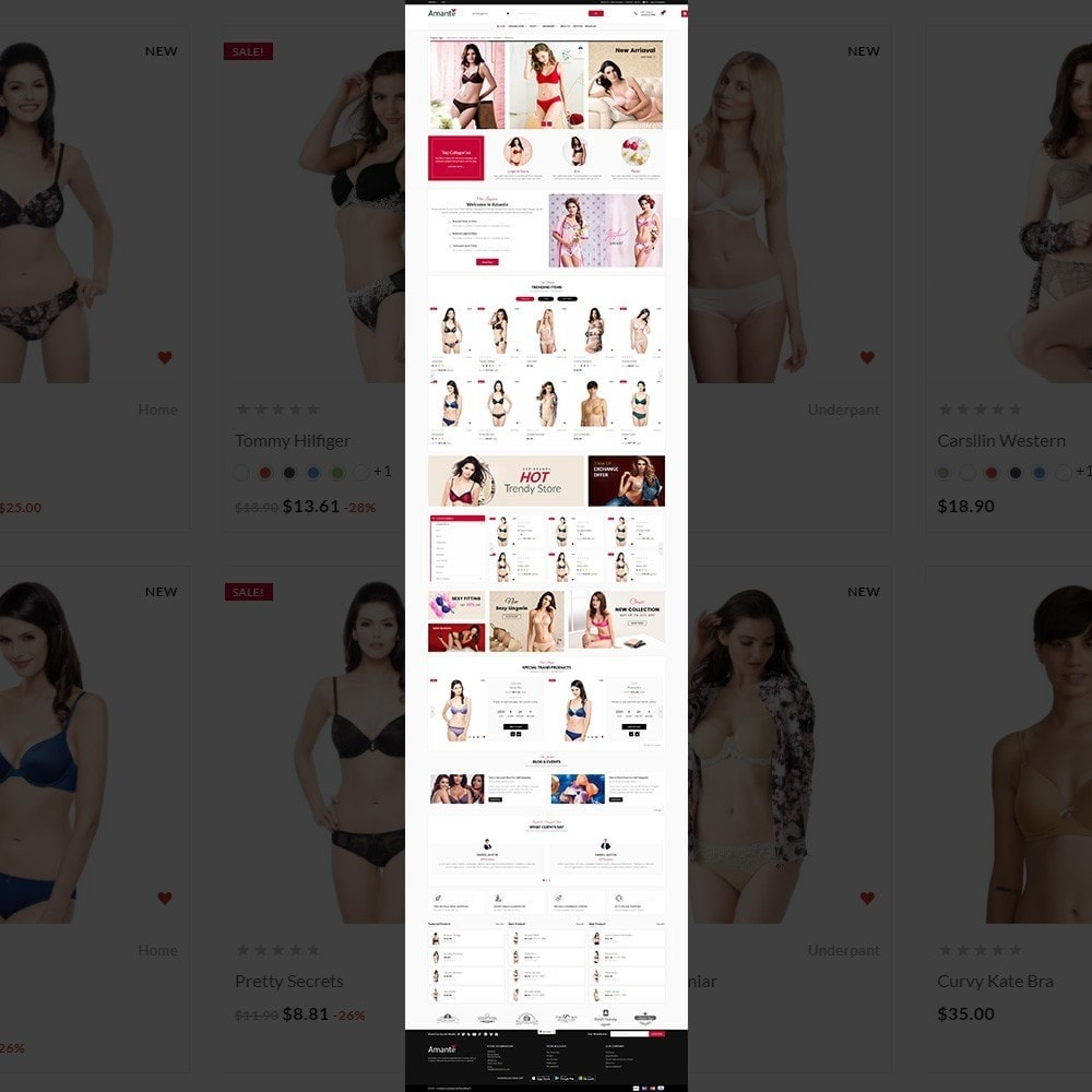 theme - Lingerie & Adult - Lingerie Mega Shop - 2
