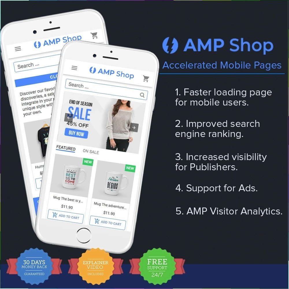module - Mobile - AMP - Accelerated Mobile Pages PRO - 1