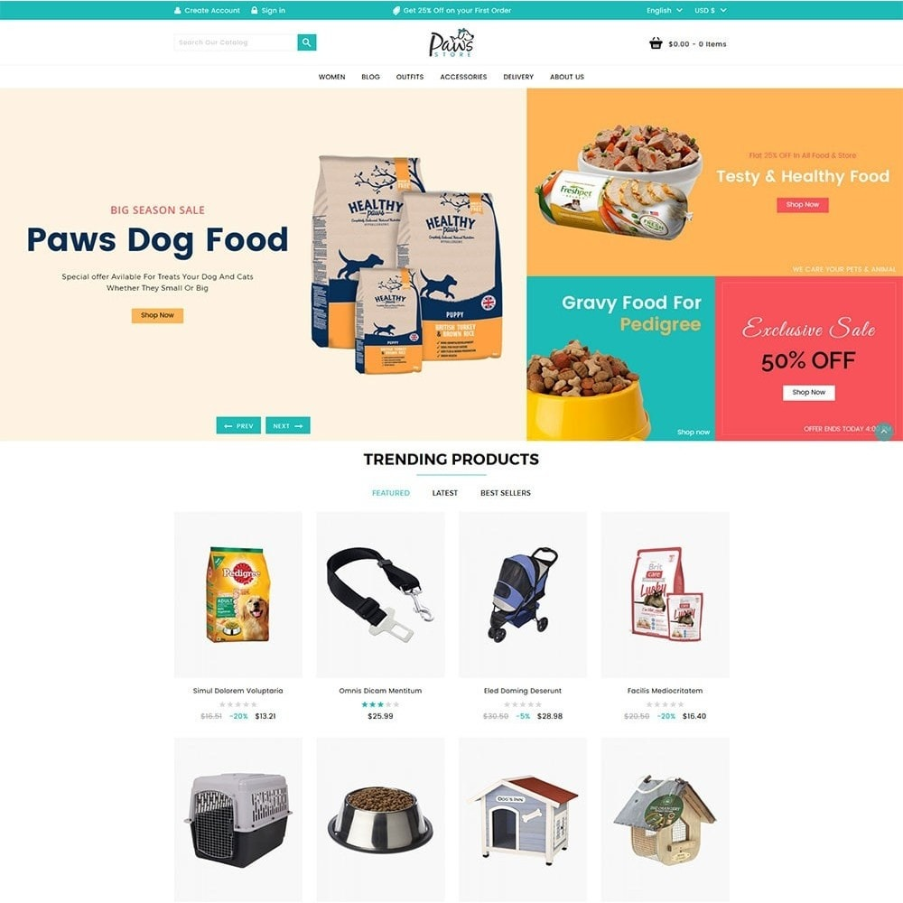 theme - Dieren - Paws Pet Store - 2