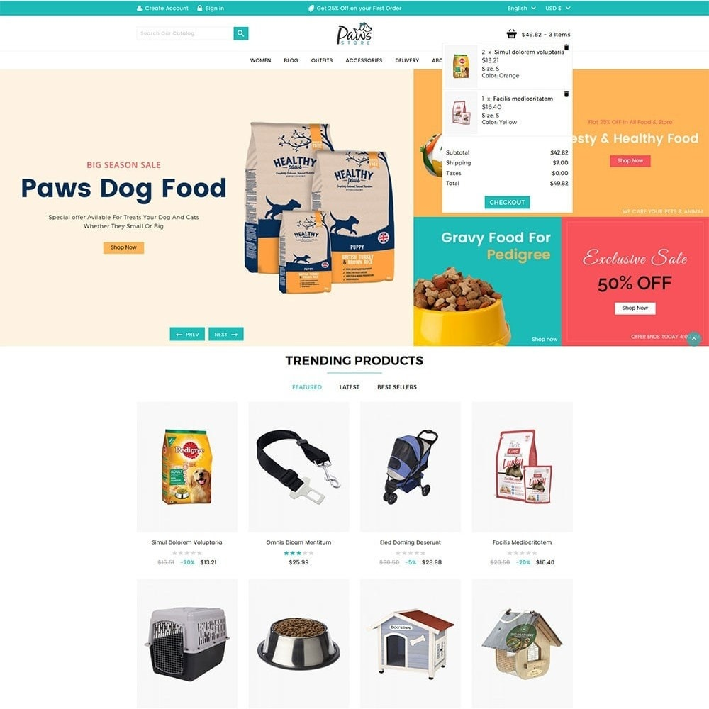 theme - Animaux - Paws Pet Store - 3
