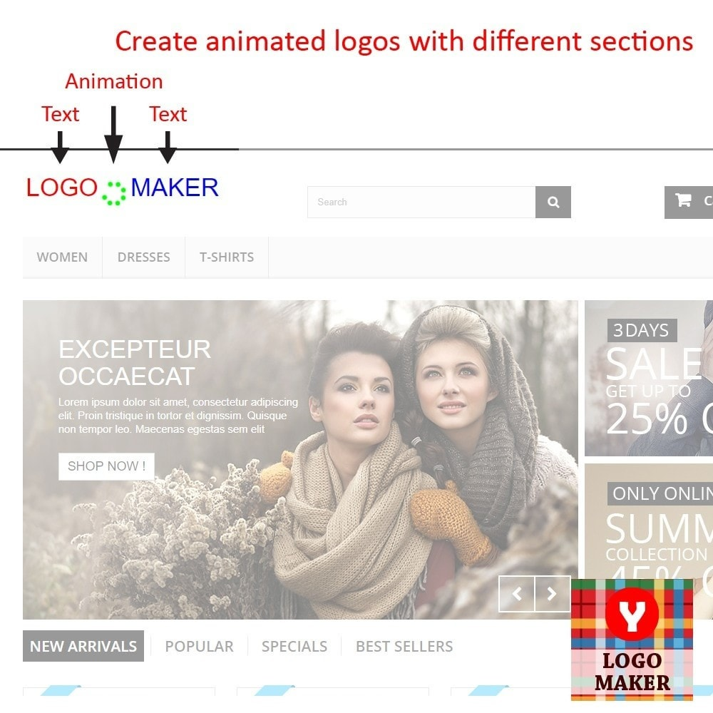 module - Odznaki & Logo - Yucca Logo Maker Pro - 2
