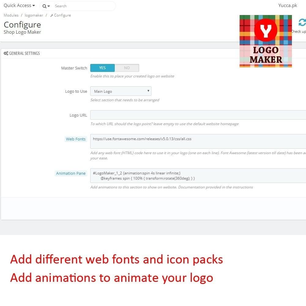 module - Odznaki & Logo - Yucca Logo Maker Pro - 3