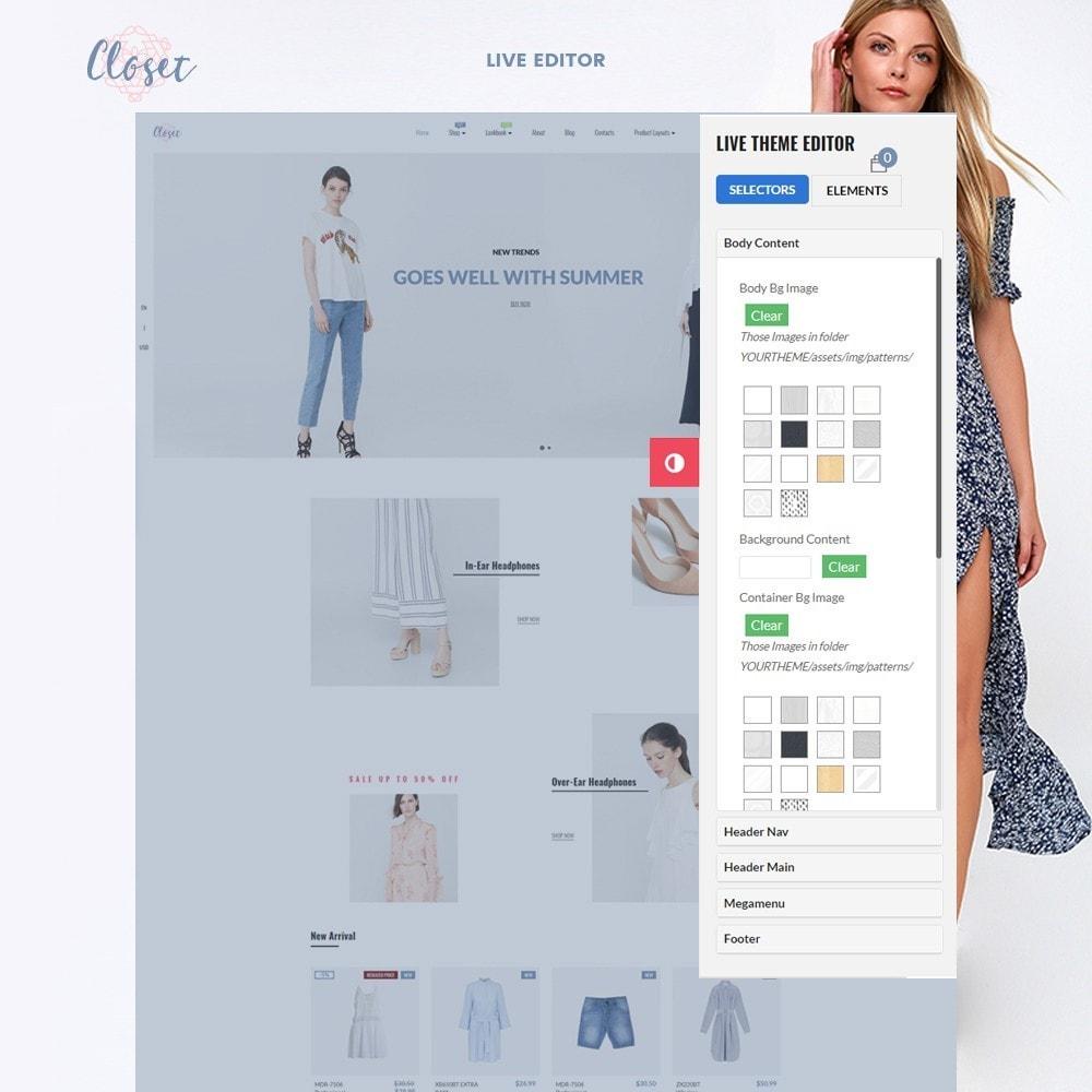 theme - Moda & Calçados - Leo Closet - 2