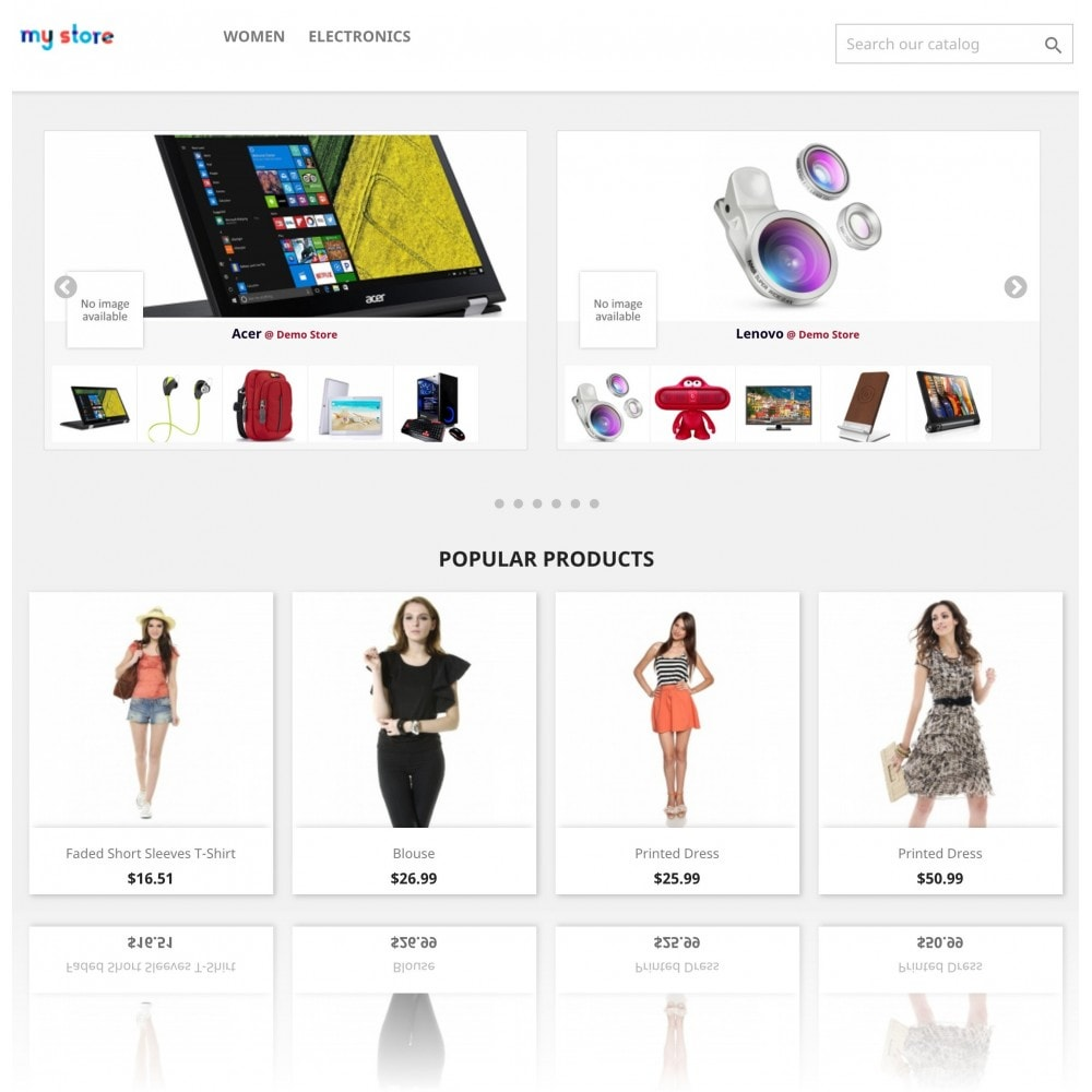 module - Marcas y Fabricantes - Brands Wall Navigation: slider or block - 6