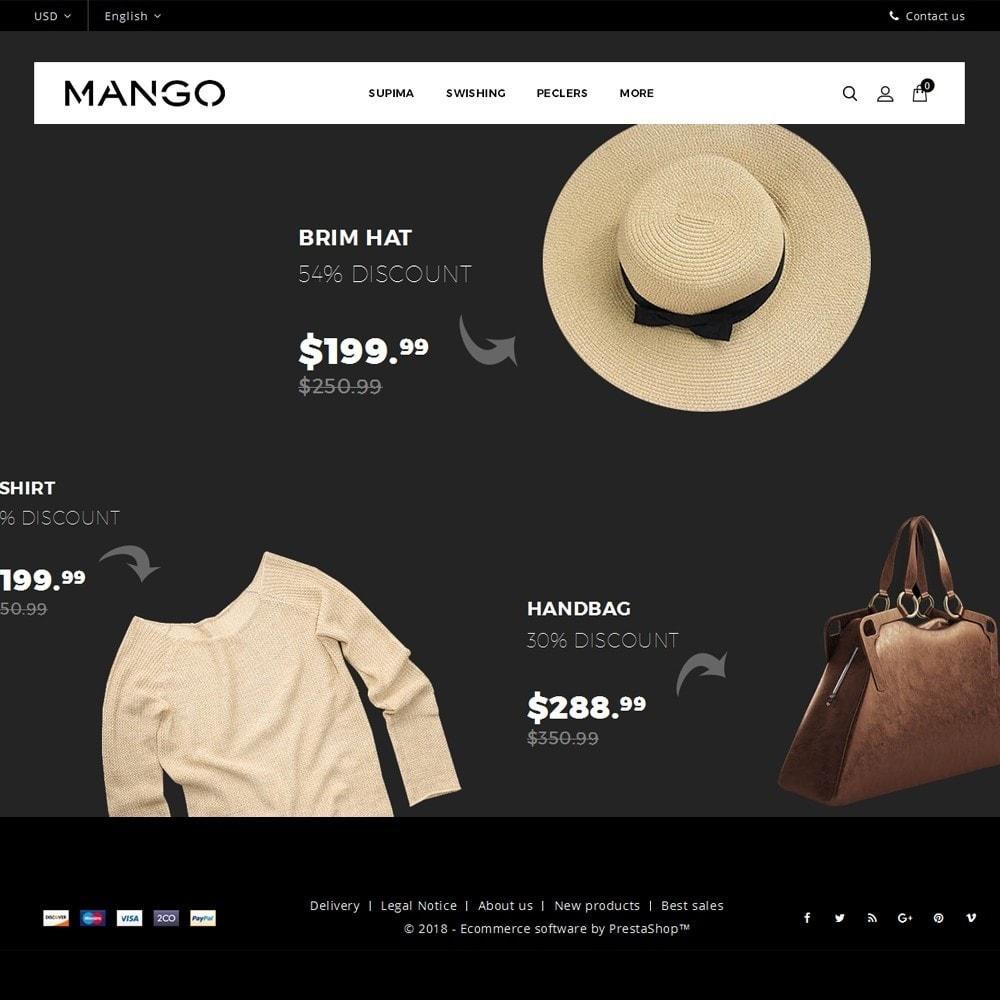 theme - Fashion & Shoes - Mango Fashion Demo - 2