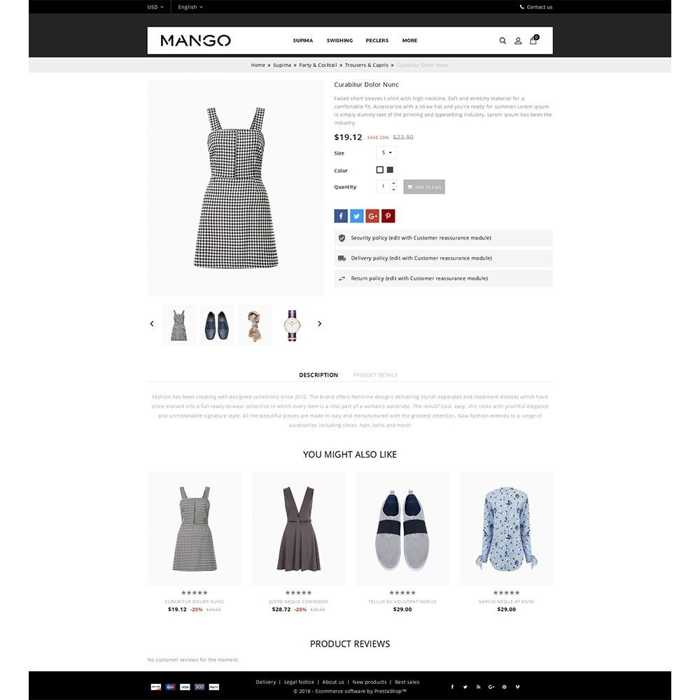 theme - Moda & Obuwie - Mango Fashion Demo - 5