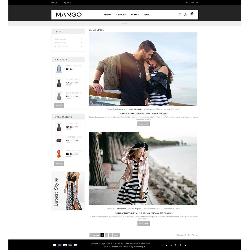 theme - Fashion & Shoes - Mango Fashion Demo - 9